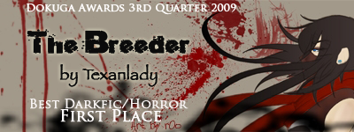 1st Place - Best Darkfic/Horror