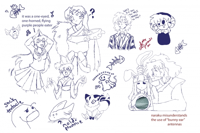 Chat Doodles sketch dump 2