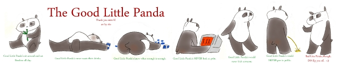 THANK YOU KPANTS!: The Good Little Panda