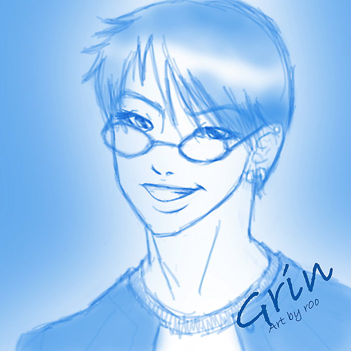 Quick sketch: Grin