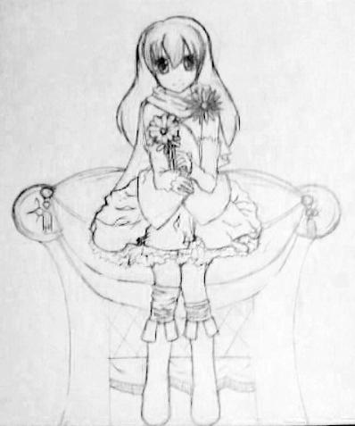 Flower Girl - WIP