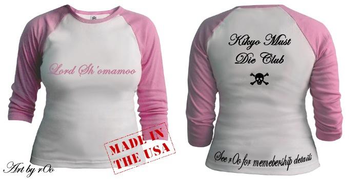 Kikyo Must Die Club T-shirt