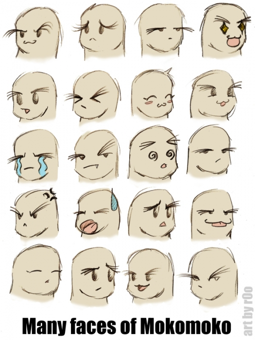Many Faces of Mokomoko, M+M