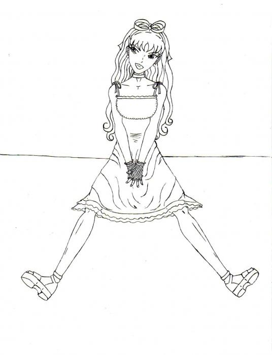Dokugasona- Etain Line Art