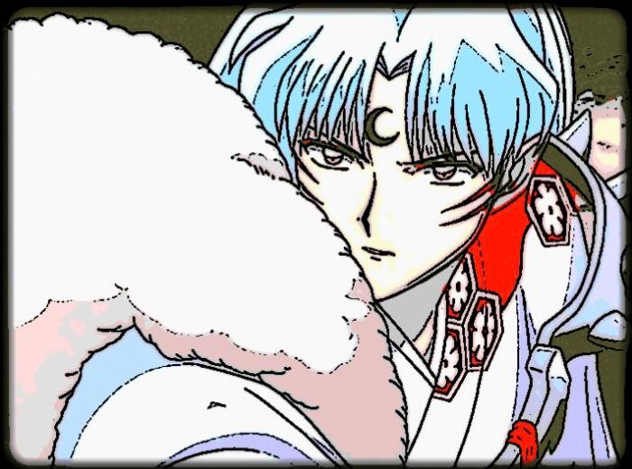 Sesshoumaru: The Look of Sheer Determination