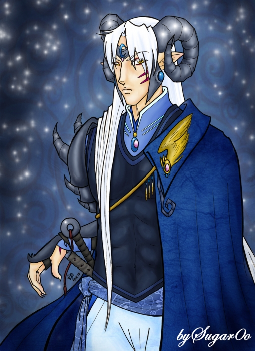 Concept Sesshomaru: Ram's Horn~Color