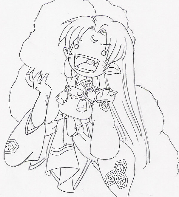 Sesshomaru Loves Cookies