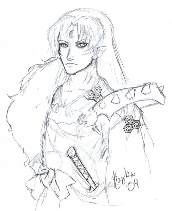 Sesshomaru Sketch