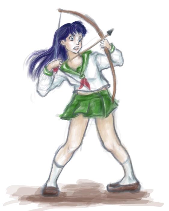 Kagome's bow