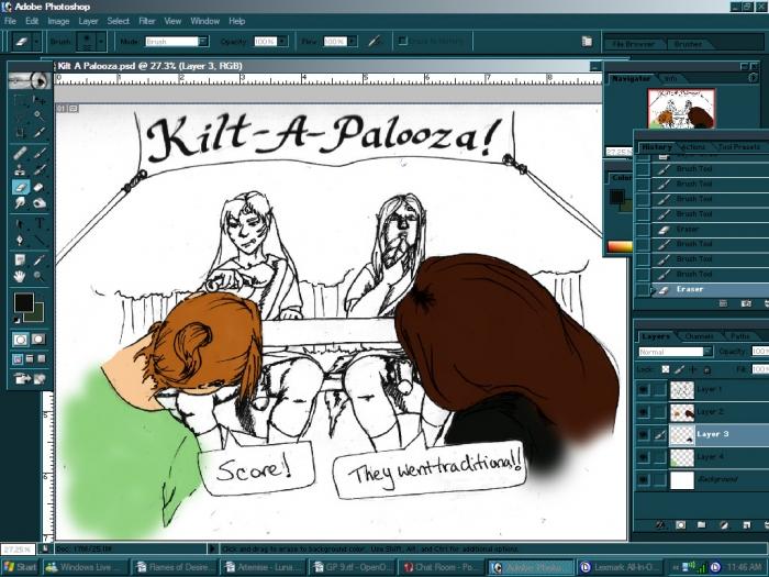 WIP Kilt-A-Palooza