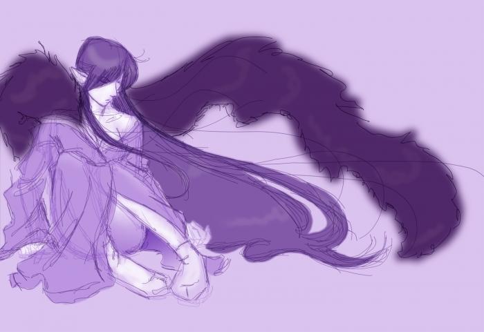 Purple Mokomoko