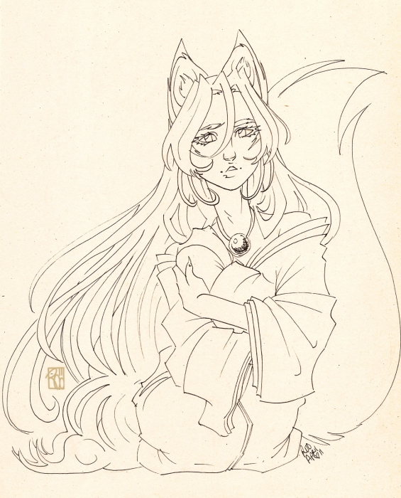 The Fox Miko