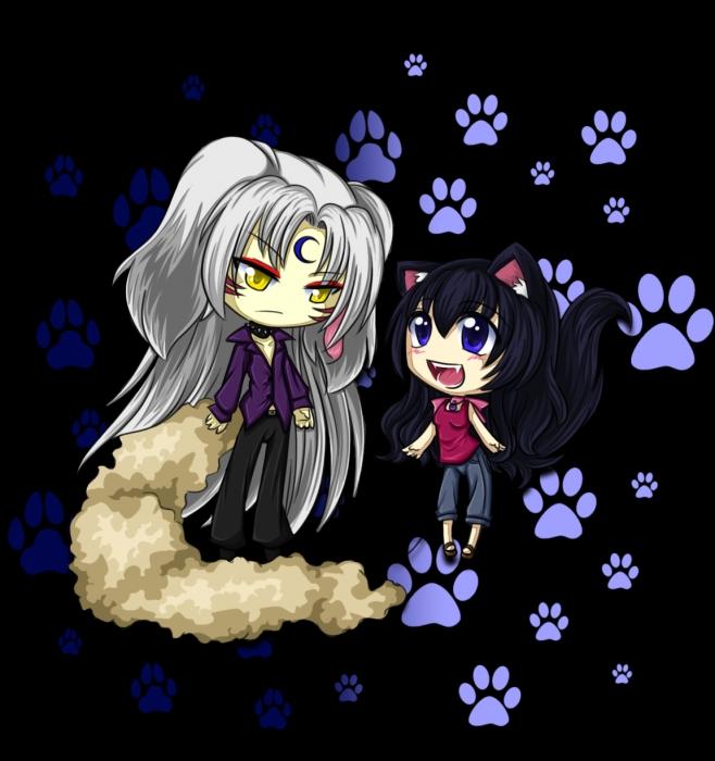 Puppies love Kitties