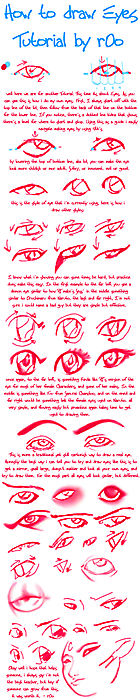 How to Draw Eye by r0o