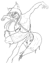 LineArt: Kami of Trickery: Shippo