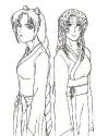 Mizuki and Cho *sketch*