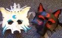Tenshi and Kage Masks