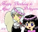Dokugan Birthday Banner April 2011