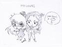 [Chibi] Itsy and Naomi