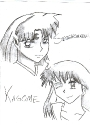 [b]Kagome and Sesshomaru
