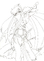 LineArt: Concept Battle Kagome