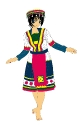 Ethnic Kagome Colored
