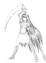 Kagome as Death Sketch