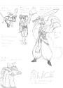 Alice Inuyasha style sketch