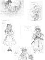 Alice Inuyasha style 2 sketch