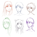 Inutachi Head Doodles