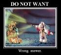 DO NOT WANT motivotional poster