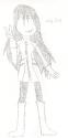 Cosplay: Kagome as Haruko