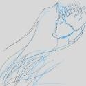 kiss sketch
