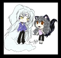 Puppy Sesshy, Kitty Kagome
