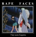 Rape Face Poster