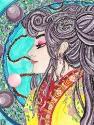 Shrii's La Signora Della Luna Watercolor'd
